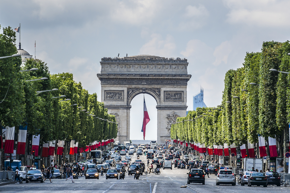 4. Arc3-Arc De Triomphe & Champs Elysee